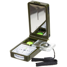 10 in 1 Militär Thermometer LED Hygrometer Marschkompass Camping Kompass NEU~