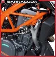 Topes Anticaída Slider Protector de Carcasa Paramotor BARRACUDA, KTM Duke 390