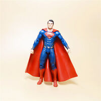 "Mattel DC Universe Man of Steel Movie Masters Superman ACTION FIGURE  LOOSE 6""b"