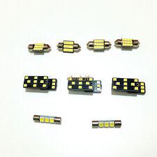 9Pcs LED Interior Reading Lights for Subaru Legacy 2010~14, 6000K 90LEDs 2835SMD