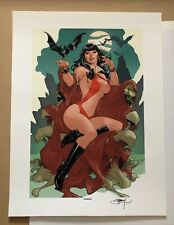 Vampirella A Scarlet Thirst Art Print Terry Dodson Sideshow Collectibles Limited