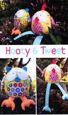 PATTERN - Hooty & Tweet - cute softie/toy PATTERN by Melly and Me