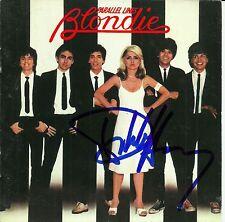 Debbie Harry signed Parallel Lines cd