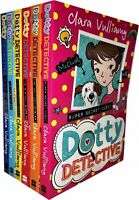 Dotty Detective Collection By Clara Vulliamy 6 Books Set Paw Print Paperback NEW