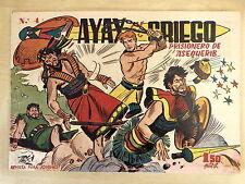 Ayax el Griego num.4 Editorial Creo 1960