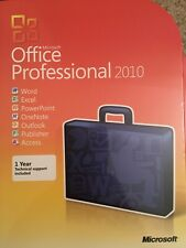 Microsoft Office 2010 Professional For 2 PCs Full English Version =RETAIL BOX=