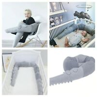 185cm Newborn Baby Bed Bumper Pillow Bumpers Infant Crib Fence cotton cribs 2019