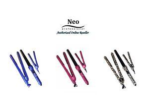Neo Complete Full Set W/ Hair Straightener + 25-18mm Curling Iron + Mini Iron