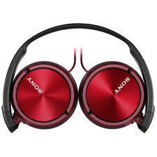 NUEVO SONY mdr-zx310ap Auriculares Rojo / NEGRO COMPATIBLE CON TODOS SMARTPHONES