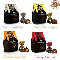 """Russian chocolate candy with alcohol """" MOHOMAX """" a different taste 200gr."""