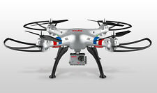 Syma X8G 2.4G 4CH 6Axis 8MP HD Camera Headless Mode RC Drone Quadcopter Silver