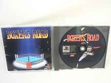 BOXERS ROAD Boxer's Item Ref/bbc PS1 Playstation PS Import JAPAN Video Game p1