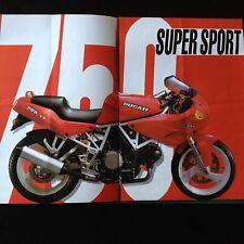 Ducati 750 SS_Prospekt