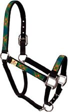 Green Kilt Print By Red Haute Horse Size Pony Halter (350 - 800 LBS)