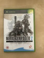 Metal Gear Solid 2 Substance XBOX ORIGINAL Video Game - Konami Stealth - Tested