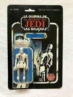 Star Wars Vintage Lili Ledy 8D8 50 negative Back Very Rare Mexico LOOK!!!
