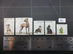 Pets, Choose Adoption Canada 2013 Stamps Lot Pa