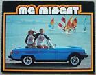 MG MIDGET USA Car Sales Brochure 1978 #250M 9/78