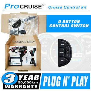 Cruise Control Kit Isuzu D-Max (All models) June 2012-ON (With D-Shaped control