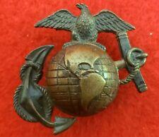 Usmc Ega Wwi Enlisted Service Cover Emblem