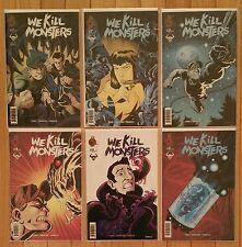 RED 5 COMICS WE KILL MONSTERS #1 2 3 4 5 6  COMPLETE SET SERIES RUN