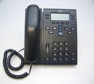 Cisco CP-6941 Charcoal Slimline Unified IP Phone CP-6941-CL-K9= V02 TESTED Okay