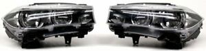 Non-US Market OEM BMW X5, X6 LED Headlamp Pair