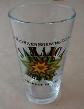 Jamaica Brand Red Ale Pint Beer Glass - Humboldt County, California