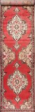 Vintage Decorative Bakhtiari 14 ft Stair Hall-way Runner Rug Hand-Knotted 3'x14'