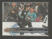 (71144) 2014-15 UPPER DECK CANVAS LOGAN COUTURE #C69