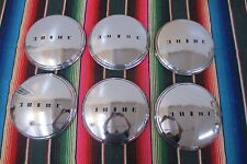 VINTAGE 1950's 1953 1954 1955 BUICK HUB CAPS NOS NORS DOG DISH HUBCAPS