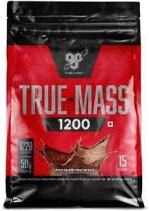 BSN TRUE-MASS Weight Gainer,Muscle Mass Gainer Protein Powder,Chocolate Milkshak