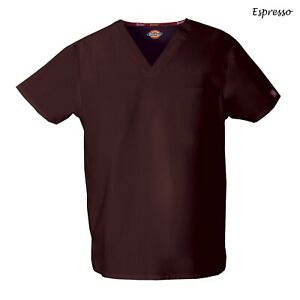 Dickies Scrubs EDS SIGNATURE Unisex Medical Uniform Nursing V-Neck Top 83706