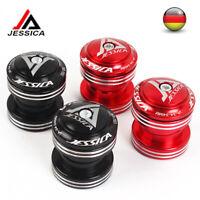 """JESSICA 1-1/8 """"Threadless MTB Rennrad Steuersatz 34mm Lager Aluminiumlegierung"""