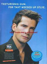 Vo5 extreme Style Texturising Gum 2005 Magazine Advert #3557
