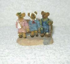 Boyd's Town Village Figurine - Bump, Thump & Klunk - Dated 2000