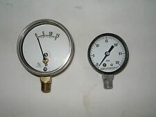 VINTAGE PRESSURE GAGES--NICE CONDITION