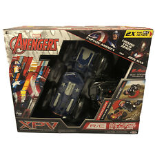 Marvel Avengers RC Rollover Rumbler NEW Iron Man and Captain America, XPV Jakks