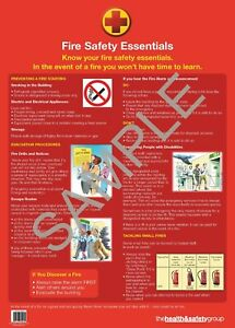 Fire Safety Poster - (A2)