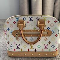 Louis Vuitton monogram Multicolore Alma Handbag - Excellent Condition RRP $3500