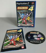 Digimon World 4 PS2 Sony Playstation 2 Complete Disc Refurbished