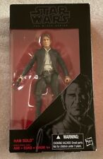 "Black Series 6"" Han Solo - The Force Awakens - Hasbro - Mint in Box"