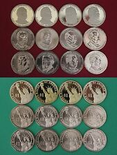 2012 P D S Presidential Dollars From Proof and Mint Sets Flat Rate Shipping