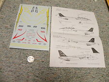 Fowler Aviation   decals 1/48 FD 4808 F-14A    M4