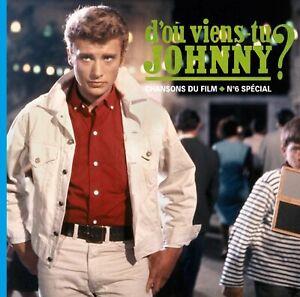 Disque Vinyle LP Johnny HALLYDAY - D'où viens-tu Johnny ?