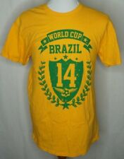 2014 Brasil Brazil Soccer Football Futbol T-shirt World Cup Soccer Medium