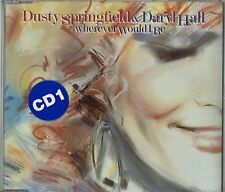 "DUSTY SPRINGFIELD & DARYL HALL - 5"" CD - Wherever Would I Be + Reputation. UK"