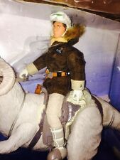 "Star Wars Hans Solo 12"" Action Figure Tauntaun Kenner 1997 Collector Series"