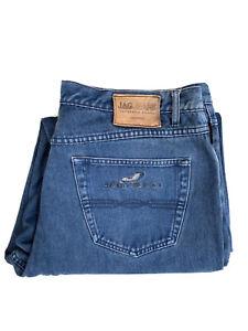 JAG Mens Denim Jeans Size 38 Straight Leg Hemmed