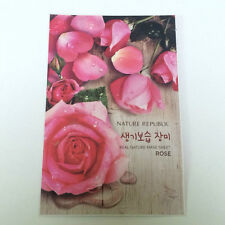 Real Nature Rose for Moisturizing Mask Sheet 23ml X 1ea